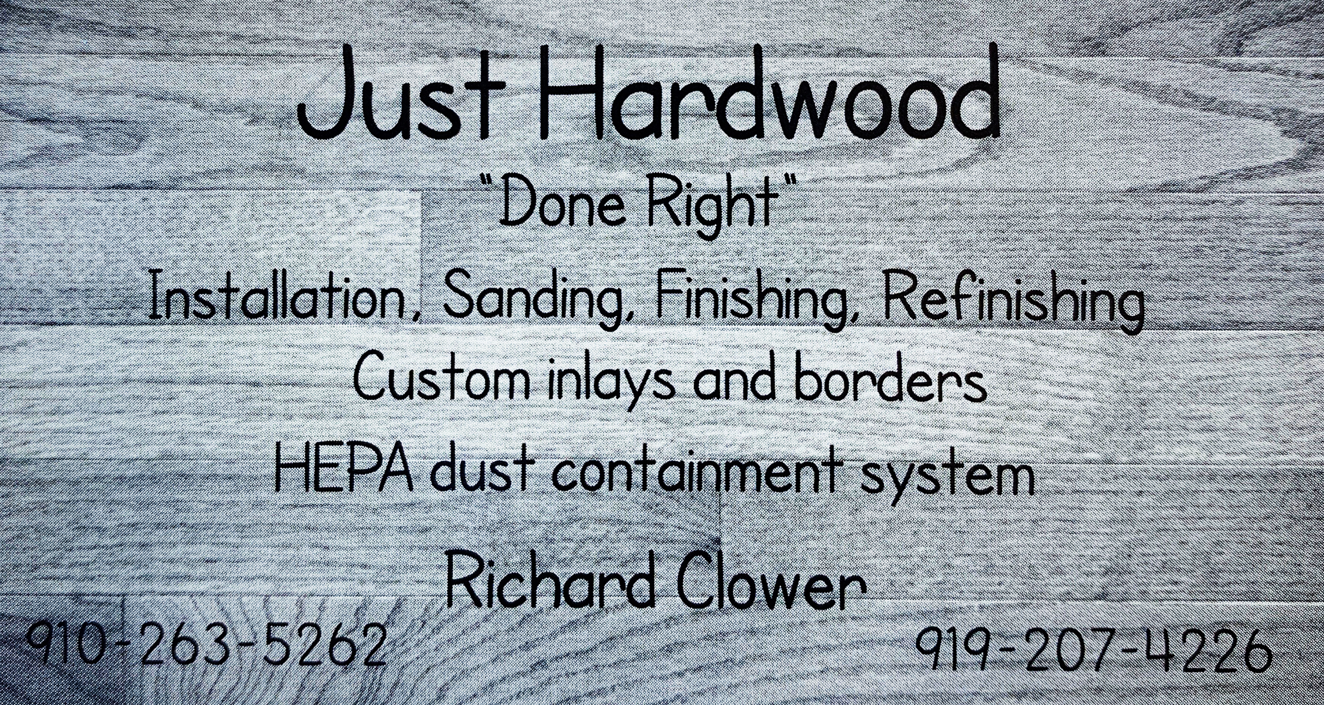 Just Hardwoods